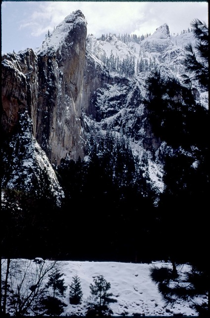 Library of Environmental Images, Office of Research and Development (ORD), September 1996 - Scenic/General - Snow on Sentinel Peak (Yosemite National Park, CA)