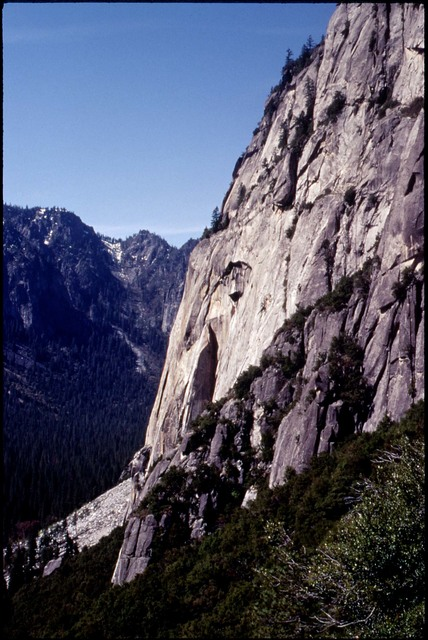 Library of Environmental Images, Office of Research and Development (ORD), September 1996 - Scenic/General - Face of granite cliff (Yosemite National Park, CA)