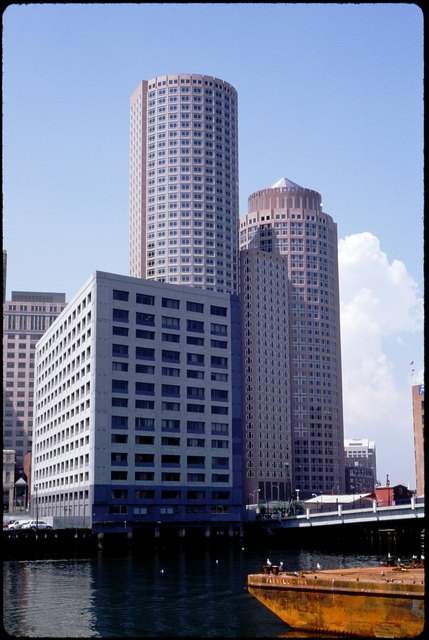 Library of Environmental Images, Office of Research and Development (ORD), September 1996 - Scenic/General - Skyscraper in Boston Harbor (MA)