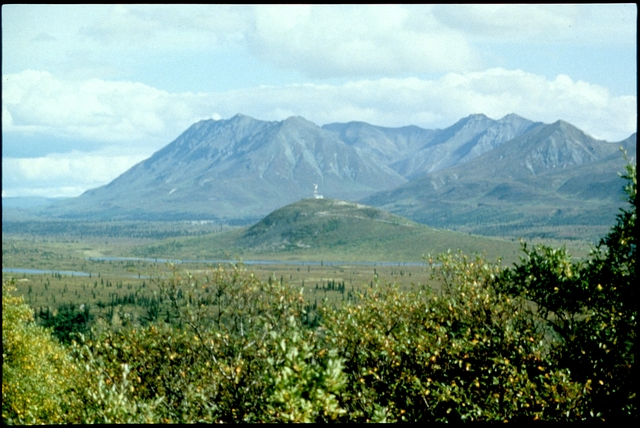 Library of Environmental Images, Office of Research and Development (ORD), September 1996 - Air - Mountain with valley in foreground