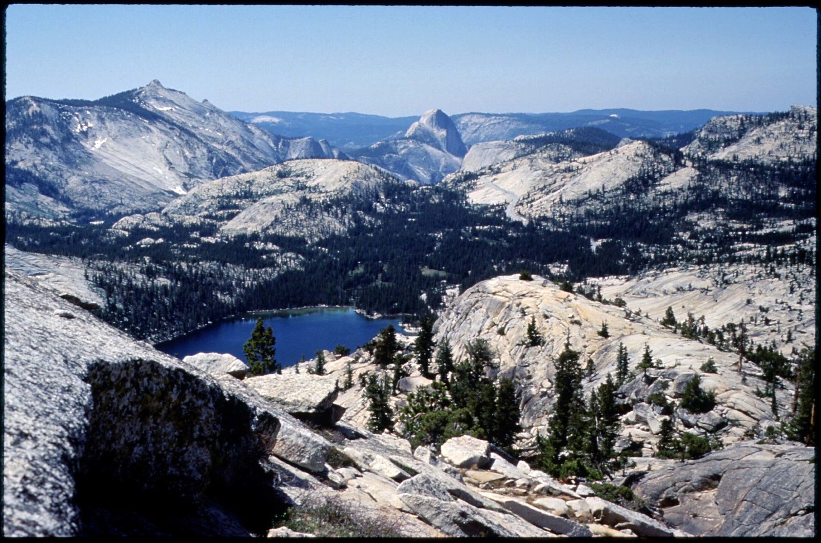 Library of Environmental Images, Office of Research and Development (ORD), September 1996 - Scenic/General - Tenaya Lake (Yosemite National Park, CA)