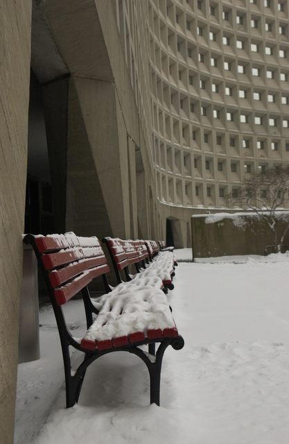 HUD Headquarters Building--Snow Scenes