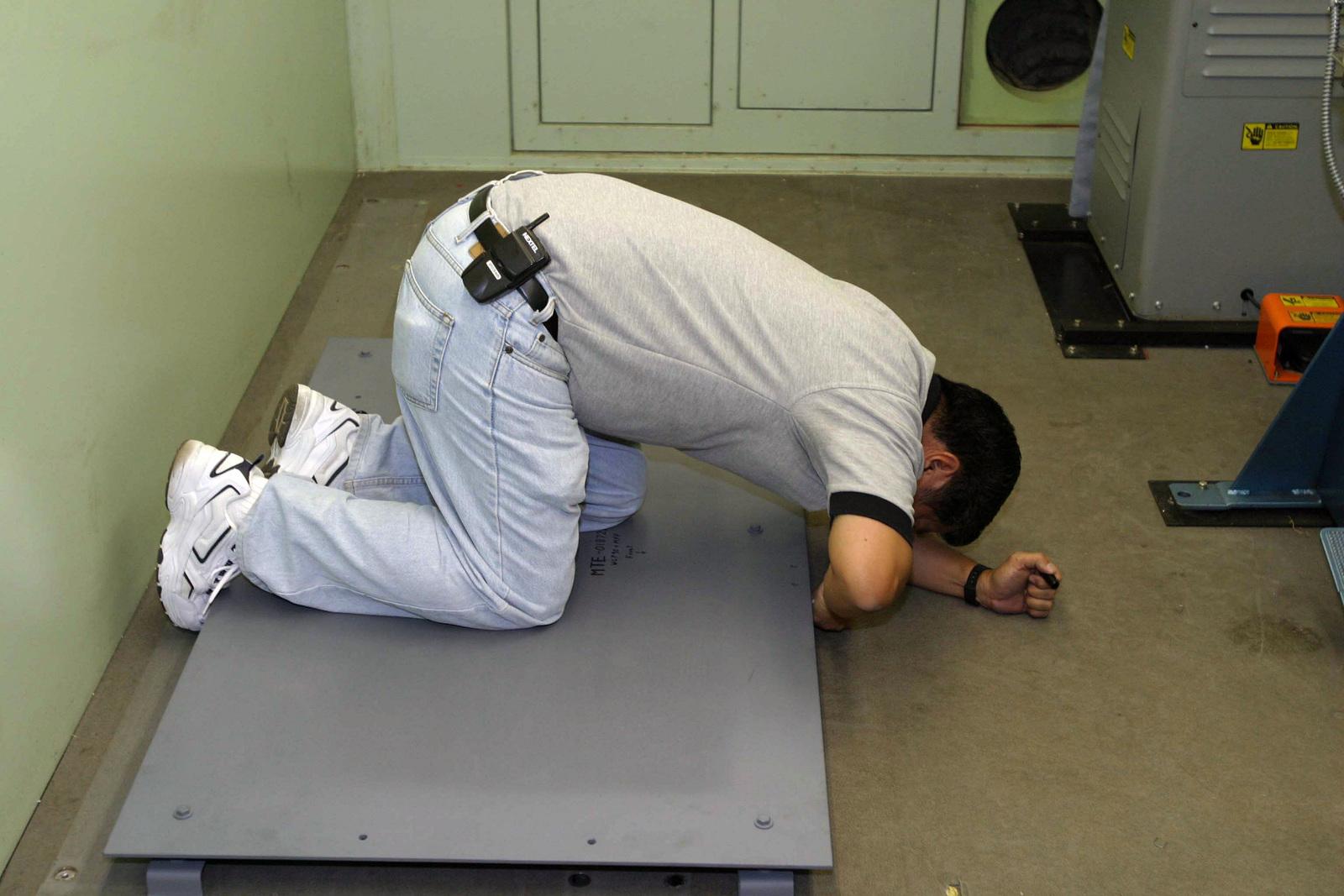 Mr  Lance Hamura, an employee from Xerox Company prepares a