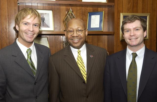 Acting Secretary Alphonso Jackson with Nic and Nate Breeding