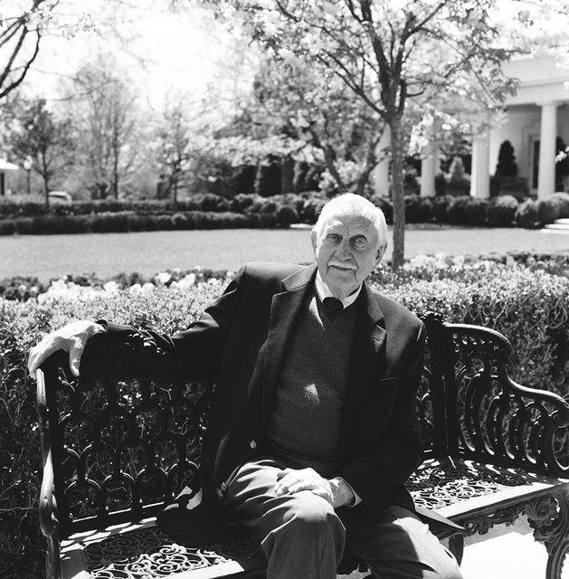 Portrait of Irvin Williams, White House Executive Grounds Superintendent