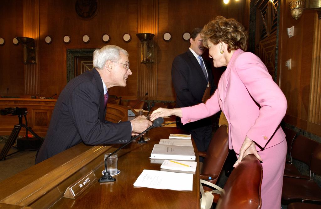 Senate Hearing on Roy Bernardi, Dennis Shea, Cathy MacFarlane Nominations--Select Photos