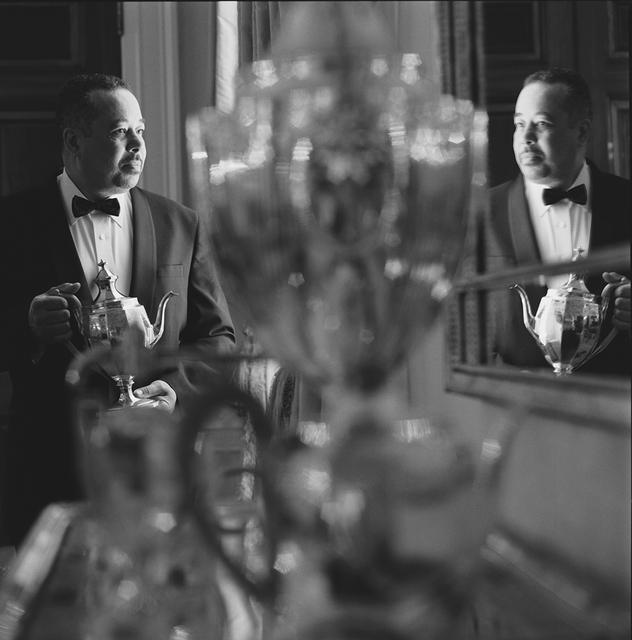 Portrait of Von R Everett, White House Butler