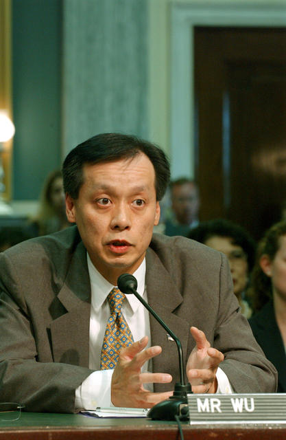 [Assignment: OS_2004_1201_187] Office of the Secretary - CONFIRMATION HEARINGS FOR BEN WU AND BRETT PALMER [40_CFD_OS_2004_1201_187_821.jpg]