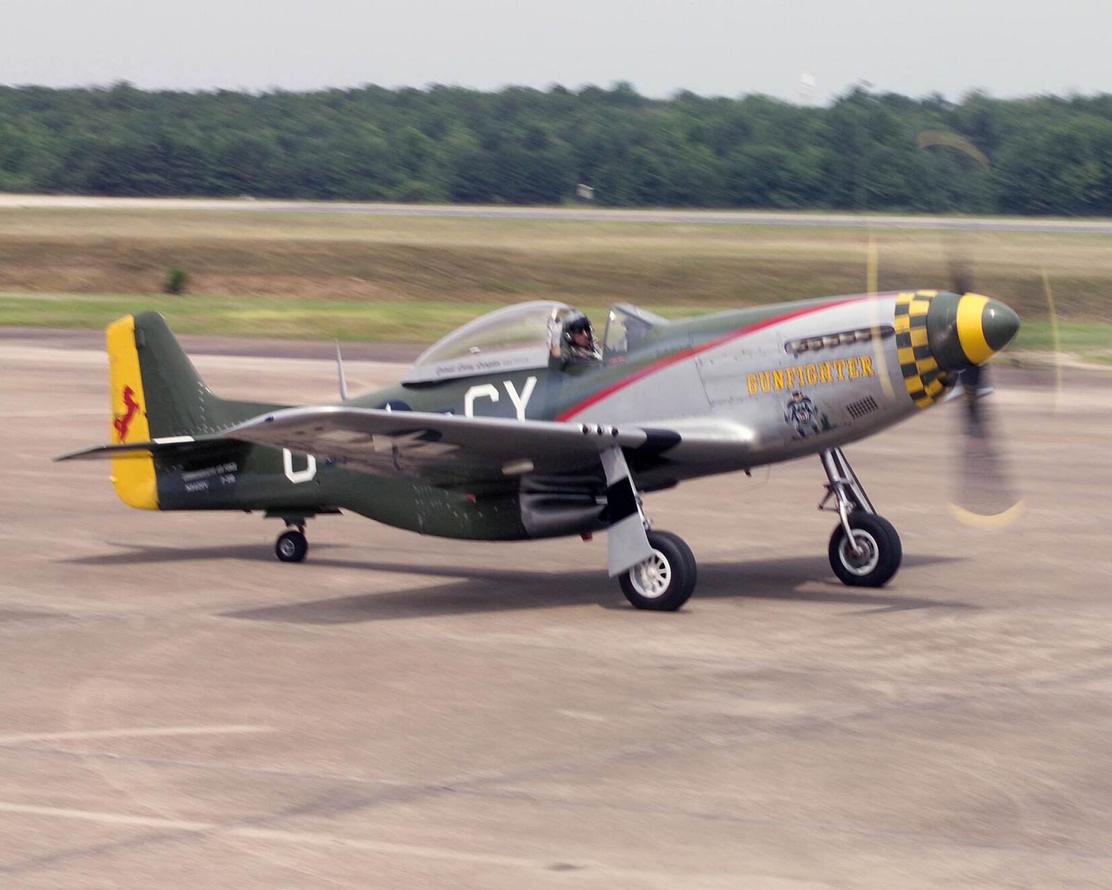 Great Plains Wing, Commemorative Air Force, P-51D Mustang