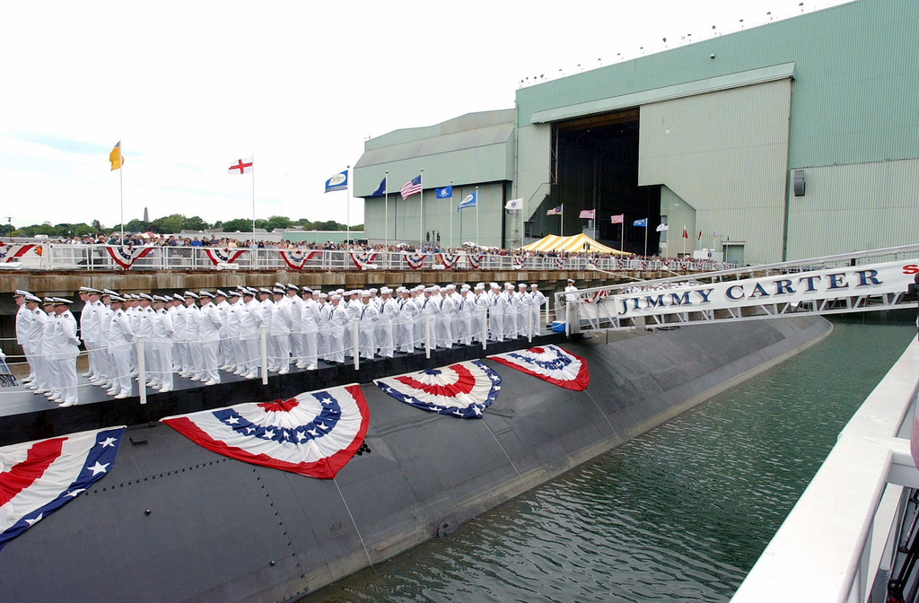 The crew of the US Navy (USN) SEAWOLF CLASS: Attack
