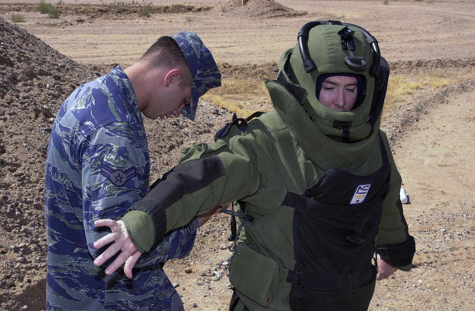 US Air Force (USAF) STAFF Sergeant (SSGT) Aaron Davenport