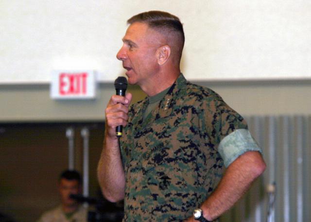 US Marine Corps (USMC) General (GEN) Michael W  Hagee