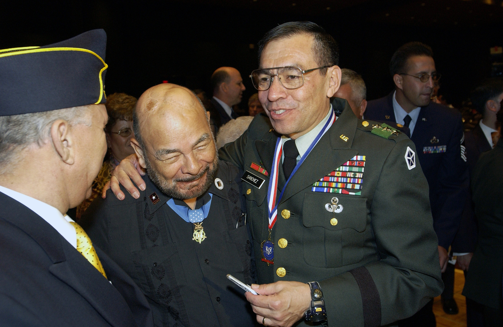 US Army (USA) Lieutenant General (LGEN) Richardo Sanchez