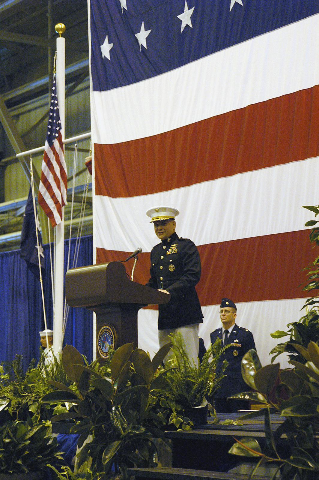 US Marine Corps (USMC) Lieutenant General (LGEN) James E
