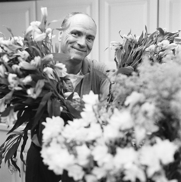 Portrait of Keith Fulghum, White House Florist