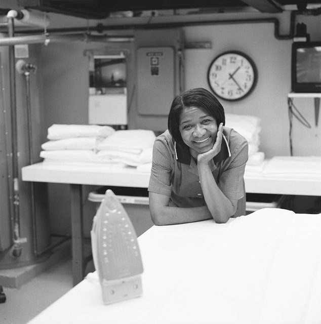 Portrait of Pearlena Blake, White House Laundry Specialist