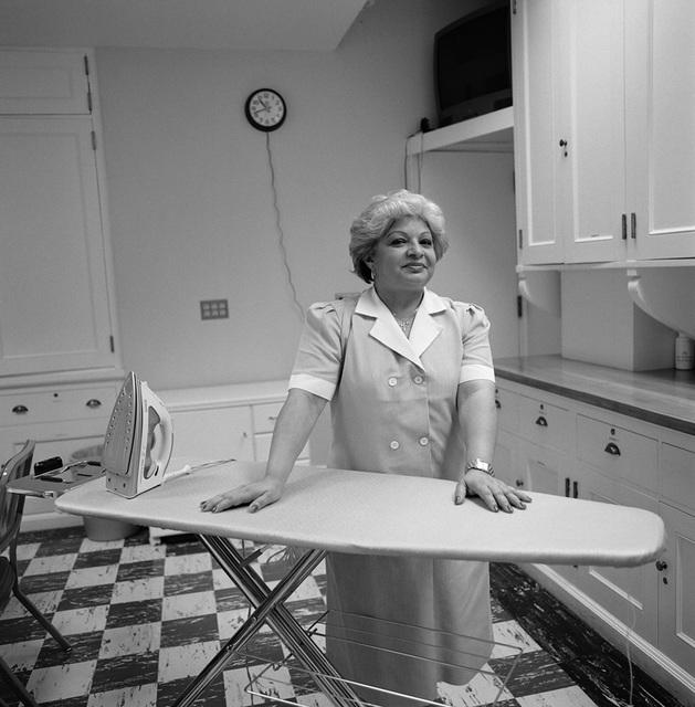 Portrait of Silvia de Silva, White House Housekeeper