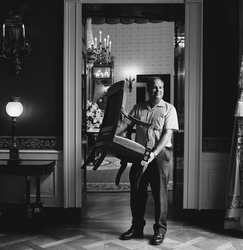 Portrait of Dennis J. Hawk, White House Operations