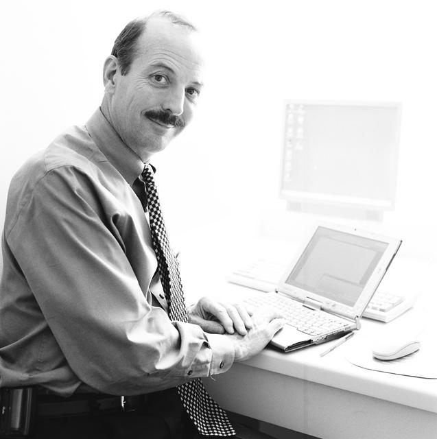 Portrait of Richard Chapman Jr., White House Systems Administrator