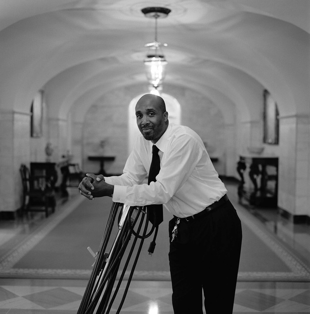 Portrait of Bernard Ward, White House Houseman