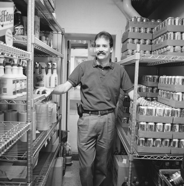 Portrait of Joel Jensen, White House Store Keeper