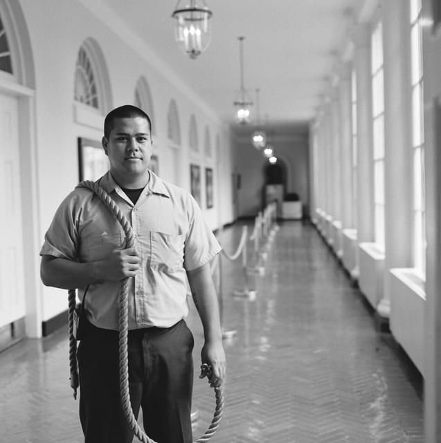 Portrait of Joseph Paje, White House Residence Operations