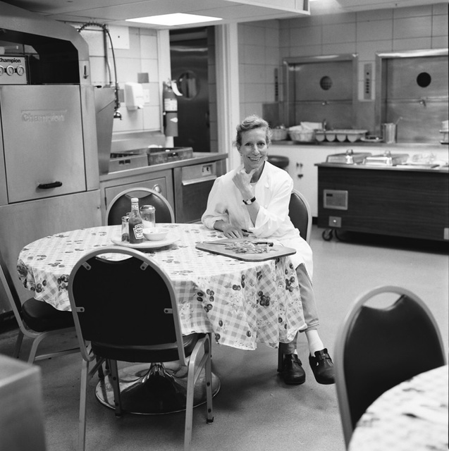 Portrait of Rachel Walker, White House Staff Kitchen Chief