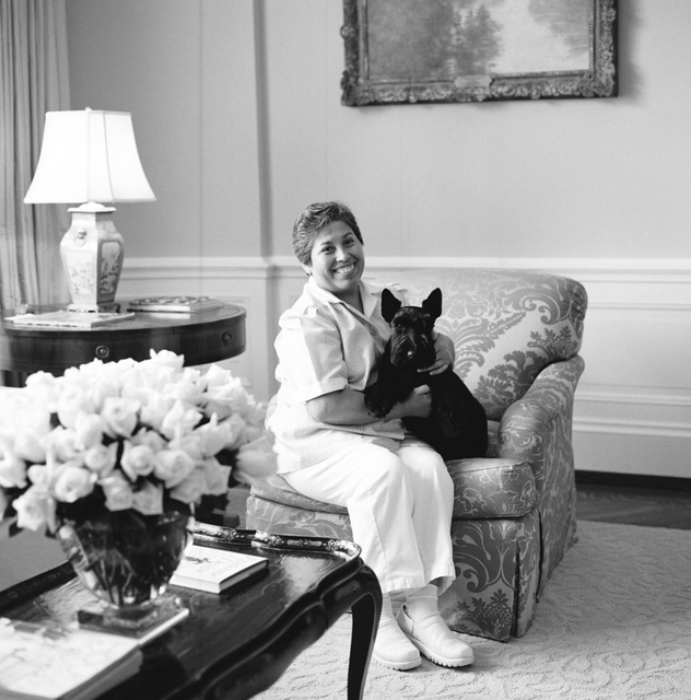 Portrait of Maria Galvan, White House Housekeeper