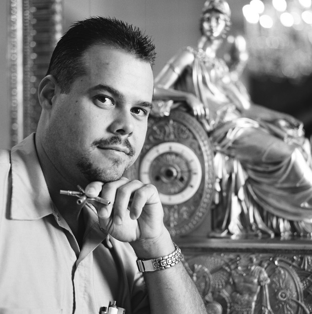 Portrait of Richard Baxley, White House Electrician