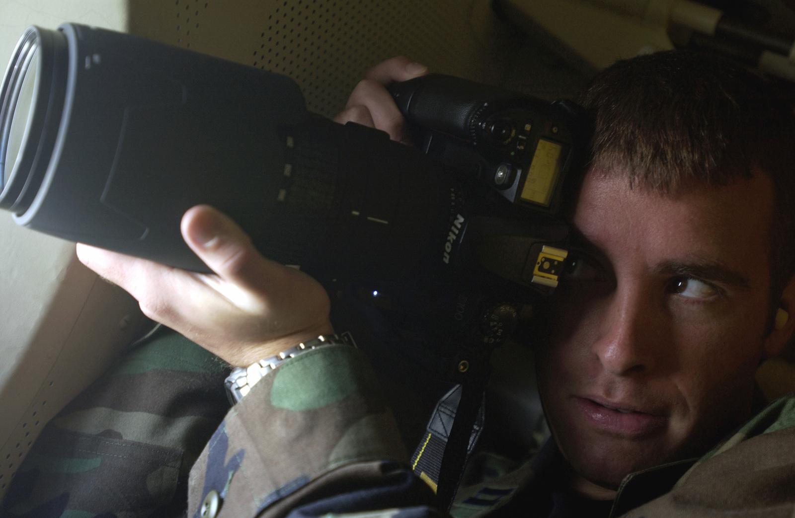 US Air Force (USAF) Captain (CPT) Alan Amato, PHOTO Flight