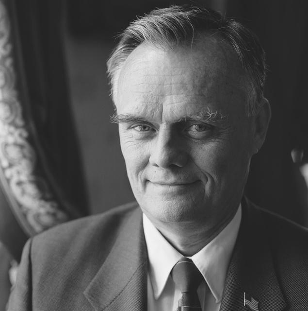 Portrait of Gary Walters, White House Head Usher