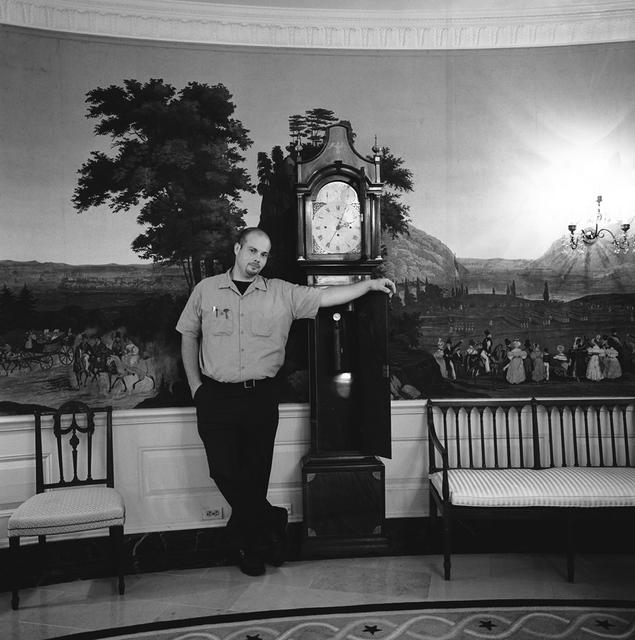 Portrait of James Toigo, White House Electrician