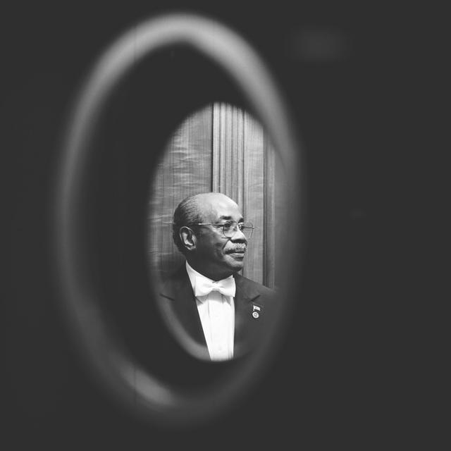 Portrait of Wilson Roosevelt Jerman, White House Doorman