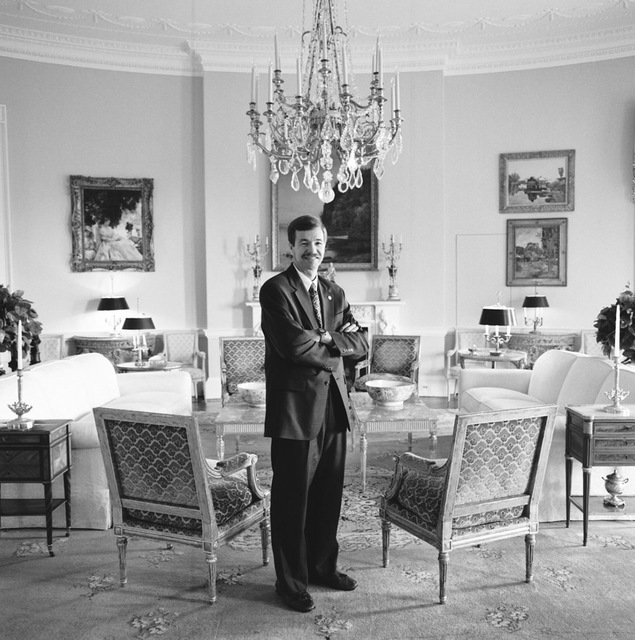 Portrait of Dennis Freemyer, White House Assistant Chief Usher