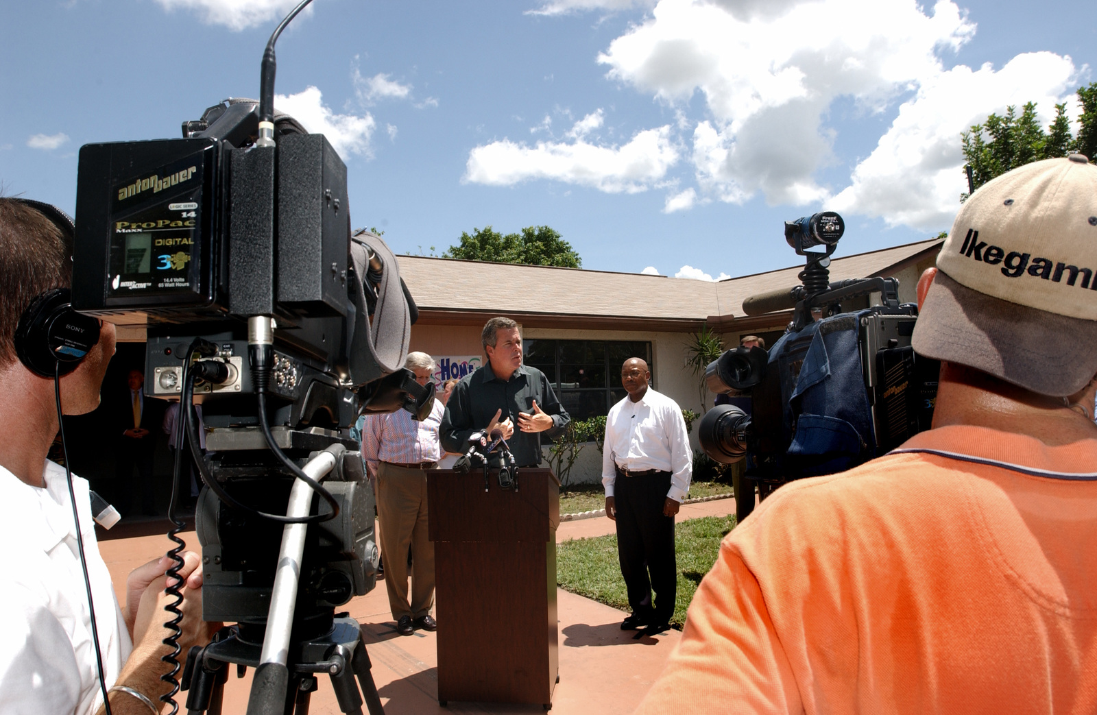 HUD Temporary Housing for Family Affected by Hurricane Charley