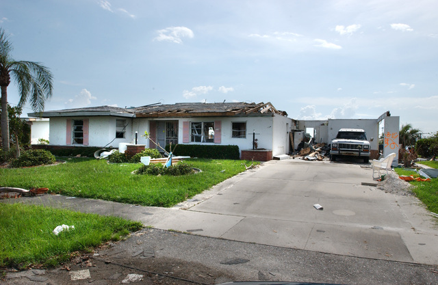 Hurricane Charley Damage in Punta Gorda and Port Charlotte, Florida