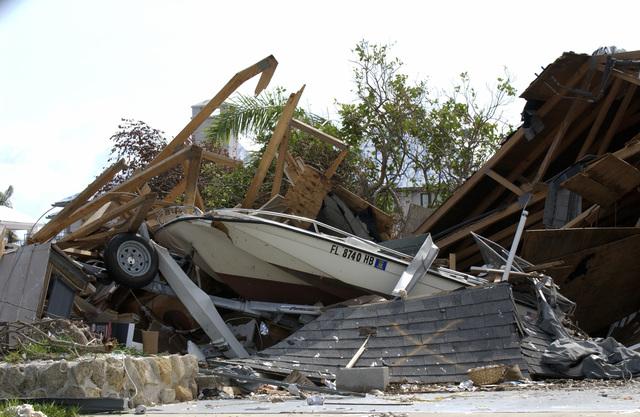 Hurricane Charley Damage in Punta Gorda and Port Charlotte, Florida