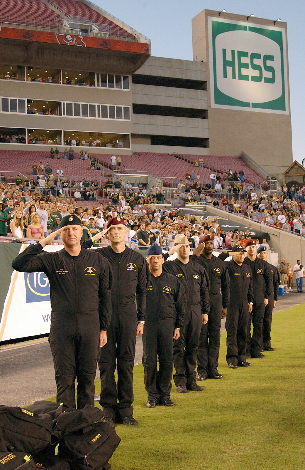 Parachute Team members, United States Special Operations