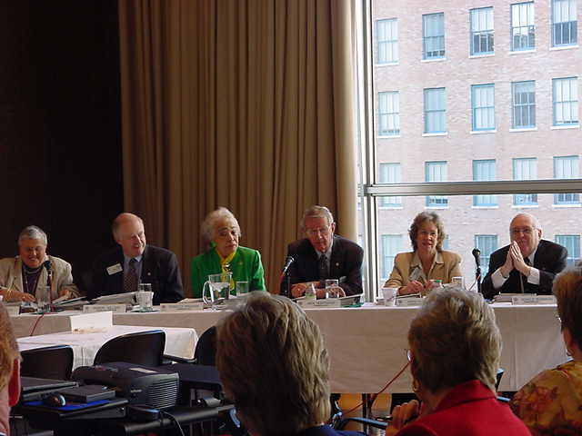 Commissioners at the NCLIS Hearing on School Libraries in Cincinnati