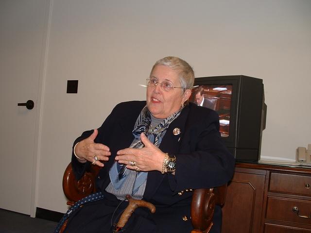 Visit with Senator John Cornyn - Commissionr Martha Gould
