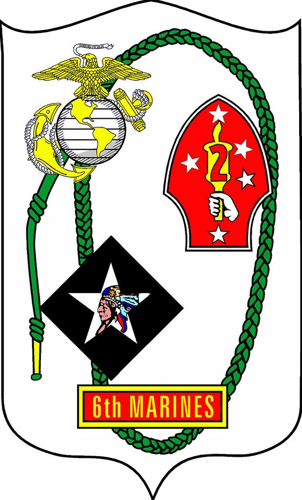 Official logo 6th Marine Regiment