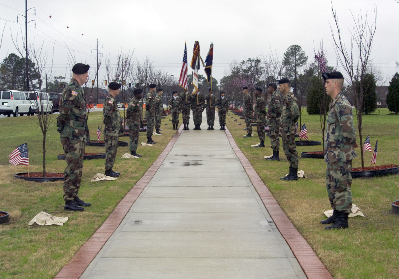 U S  Army soldiers of the 293rd Military Police Company, 3rd