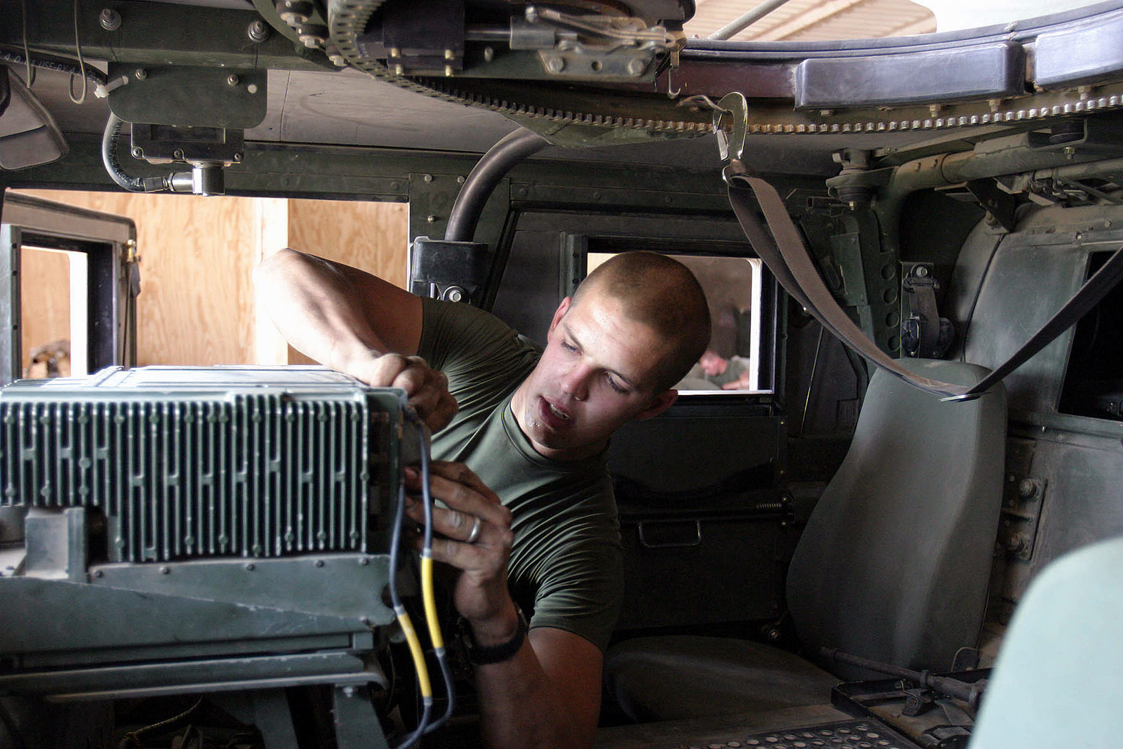 US Marine Corps (USMC) Lance Corporal (LCPL) Kyle Hutcheon