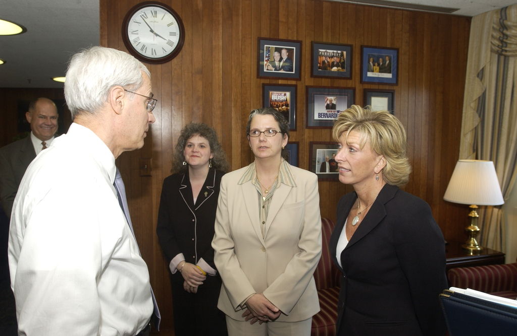 Visit to HUD by Families in Transition Officials