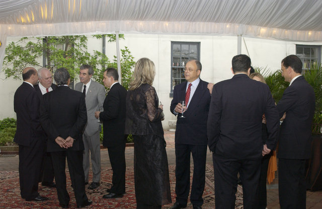 [Assignment: OS_2005_1201_229] Office of the Secretary - United States / Egypt Business Council Dinner with Dr. Ahmed Nazif [40_CFD_OS_2005_1201_229_002.JPG]