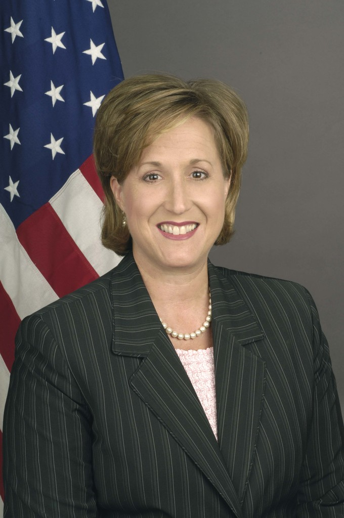[Assignment: 59-CF-DS-21891-05] Official portrait of Ann Wagner, U.S. Ambassador-designate to Luxembourg [Photographer: Ann Thomas--State] [59-CF-DS-21891-05_DSC0009Ann_L_Wagner.jpg]