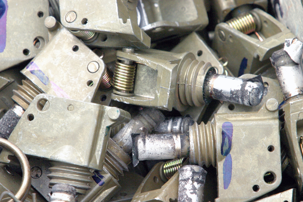 PHOTO of unassembled M228 fuses that will be installed into