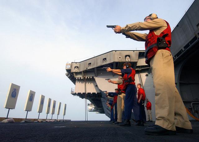 US Navy (USN) Aviation Ordnanceman Third Class (AO3) Yvette
