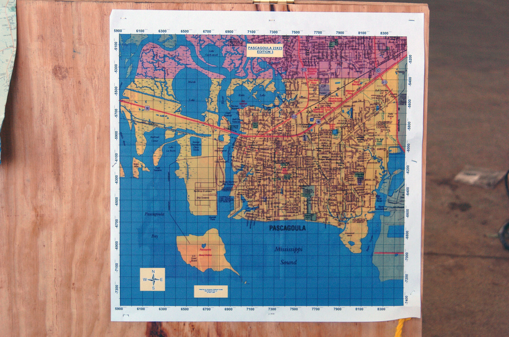 map of pascagoula mississippi A Map Of The Pascagoula Mississippi Ms Area Posted For The map of pascagoula mississippi