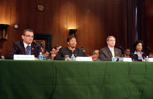 Senate Confirmation Hearing for Assistant Secretaries - Senate confirmation hearing on Capitol Hill for Assistant Secretaries:  Keith Nelson (Administration),  Darlene Williams (Policy Development and Research), Kim Kendrick (Fair Housing and Equal Opportunity), and Keith Gottfried (General Counsel)